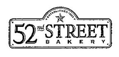 52ND STREET BAKERY ESTABLISHED 1923