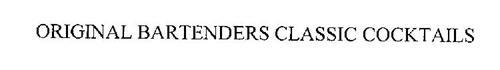 ORIGINAL BARTENDERS CLASSIC