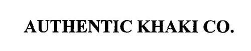 AUTHENTIC KHAKI CO.