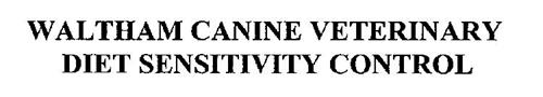 WALTHAM CANINE VETERINARY DIET SENSITIVITY CONTROL