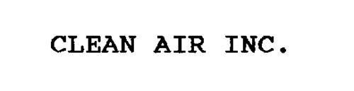 CLEAN AIR INC.