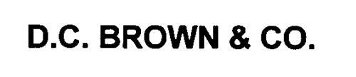 D.C. BROWN & CO.