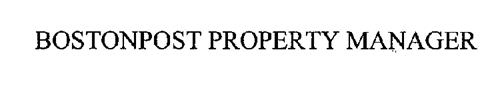 BOSTONPOST PROPERTY MANAGER