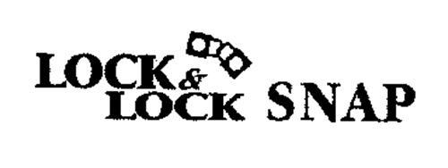 LOCK & LOCK SNAP