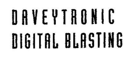 DAVEYTRONIC DIGITAL BLASTING