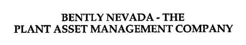 BENTLY NEVADA - THE PLANT ASSET MANAGEMENT COMPANY