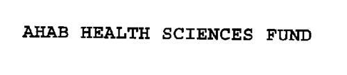 AHAB HEALTH SCIENCES FUND