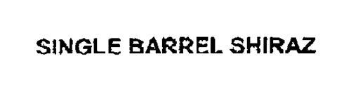 SINGLE BARREL SHIRAZ
