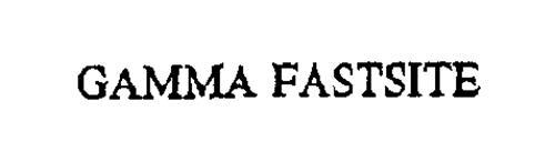 GAMMA FASTSITE
