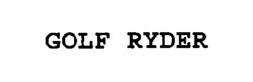 GOLF RYDER