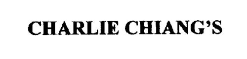 CHARLIE CHIANG'S