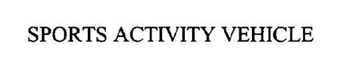 SPORTS ACTIVITY VEHICLE