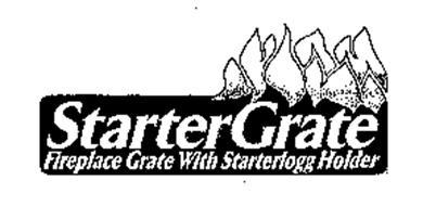 STARTER GRATE FIREPLACE GRATE WITH STARTERLOGG HOLDER