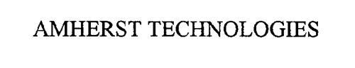 AMHERST TECHNOLOGIES