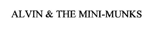 ALVIN & THE MINI-MUNKS