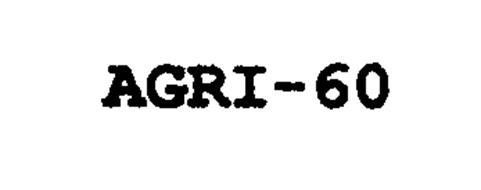 AGRI-60