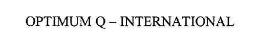 OPTIMUM Q- INTERNATIONAL