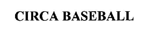 CIRCA BASEBALL