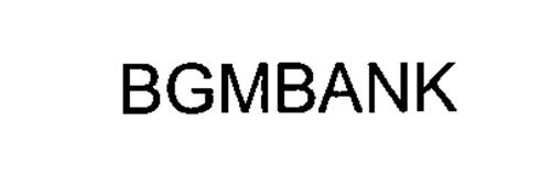 BGMBANK