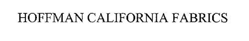 HOFFMAN CALIFORNIA FABRICS
