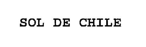 SOL DE CHILE