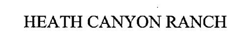 HEATH CANYON RANCH