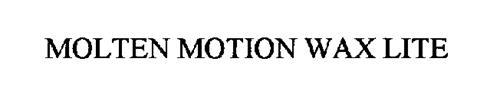 MOLTEN MOTION WAX LITE