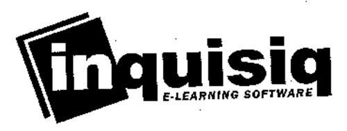 INQUISIQ E-LEARNING SOFTWARE