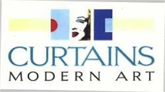 CURTAINS MODERN ART