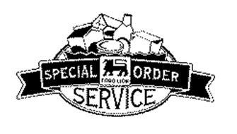 FOOD LION SPECIAL ORDER SERVICE