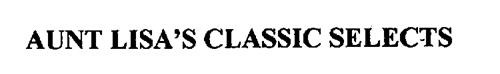 AUNT LISA'S CLASSIC SELECTS