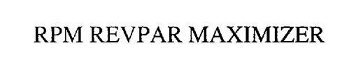 RPM REVPAR MAXIMIZER