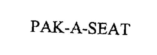 PAK-A-SEAT