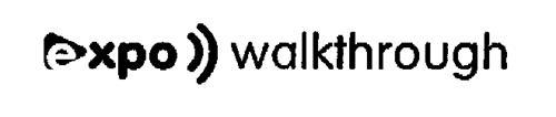 EXPO WALKTHROUGH