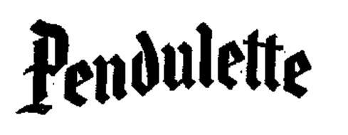PENDULETTE