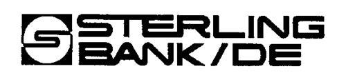 S STERLING BANK/DE S