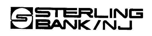 S STERLING BANK/NJ S