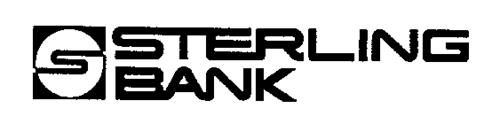 S STERLING BANK S