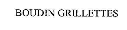 BOUDIN GRILLETTES