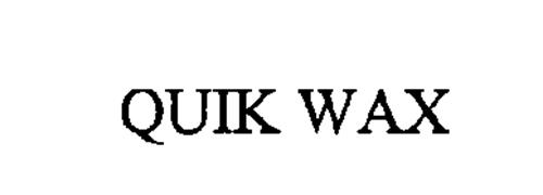 QUIK WAX