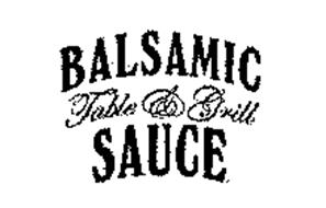 BALSAMIC TABLE & GRILL SAUCE