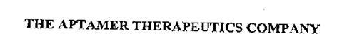 THE APTAMER THERAPEUTICS COMPANY
