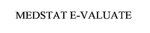 MEDSTAT E-VALUATE