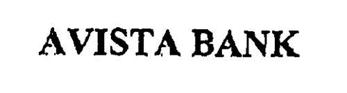 AVISTA BANK