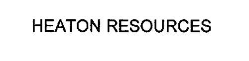 HEATON RESOURCES