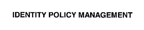 IDENTITY POLICY MANAGEMENT