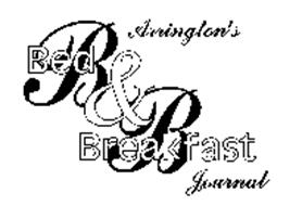 ARRINGTON'S B & B BED & BREAKFAST JOURNAL