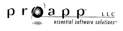 PROAPP LLC ESSENTIAL SOFTWARE SOLUTIONS