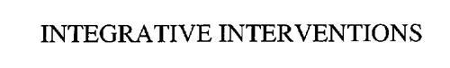 INTEGRATIVE INTERVENTIONS