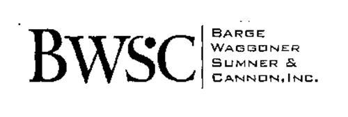 BWSC BARGE WAGGONER SUMNER & CANNON, INC.